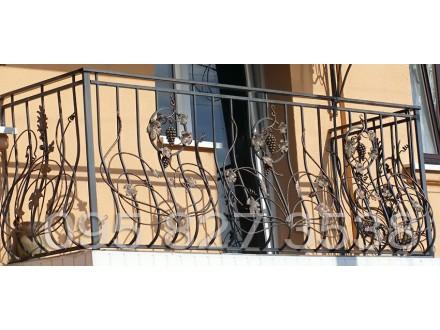 Кованые перила /  балконное ограждение -  Крым