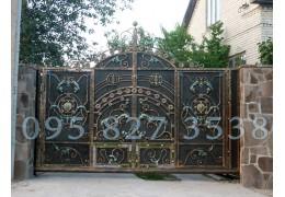 Ворота кованые Сириус