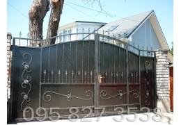 Ворота ковані Чорний Принц