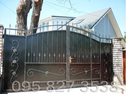 Ворота кованые Чорный Принц