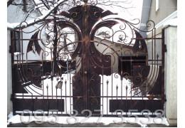 Ворота ковані Фенікс