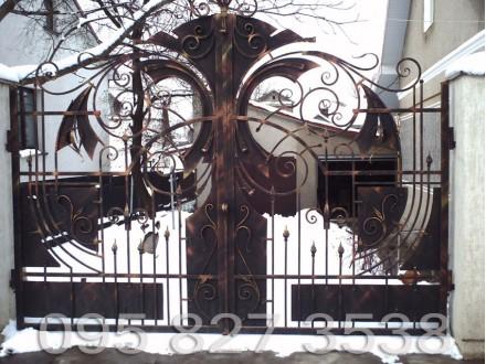Ворота кованые Феникс