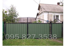 Ворота ковані Профіт-3