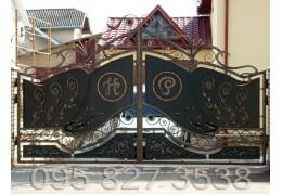 Ворота кованые Самбор