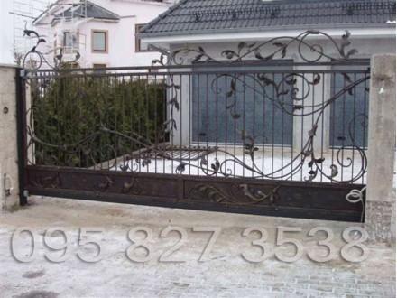 Ворота кованые Трускавец