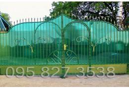 Ворота кованые Хеопс-2