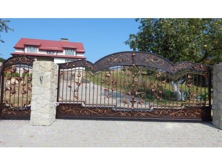 Ворота кованые Эмир