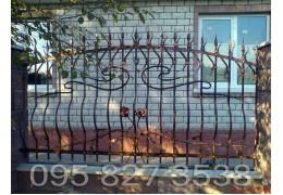 Забор кованый Виконт