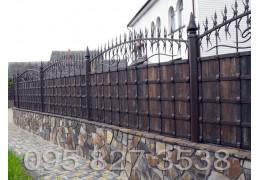 Кованый забор Зевс